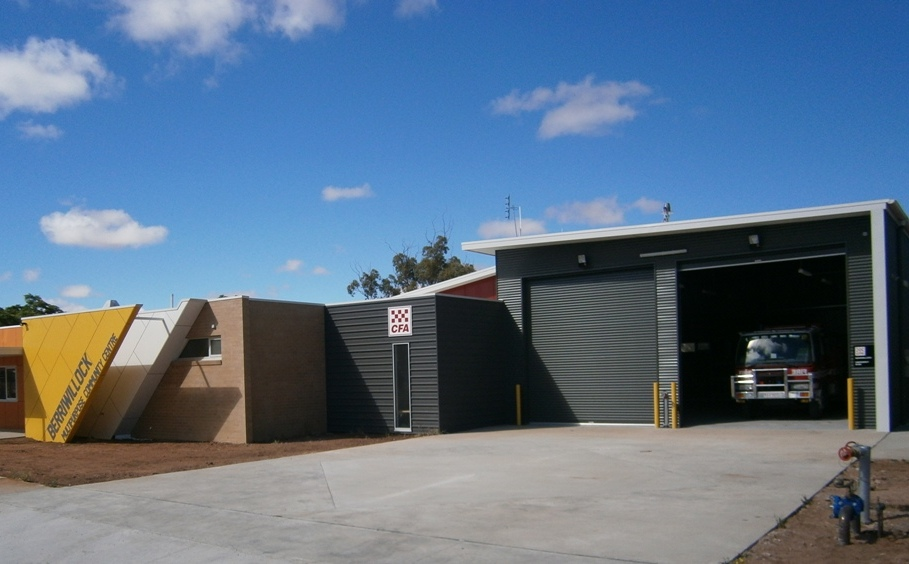 New Berriwillock Fire Shed